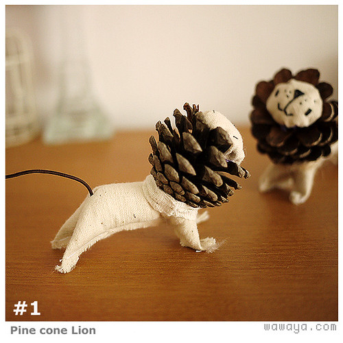 Pine Cone Lion   by gnip
