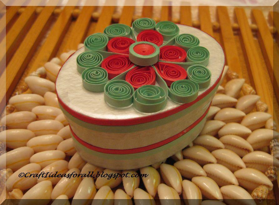 Paper Quilled Keepsake Or Jewellery Box Elegant Keepsake B Flickr
