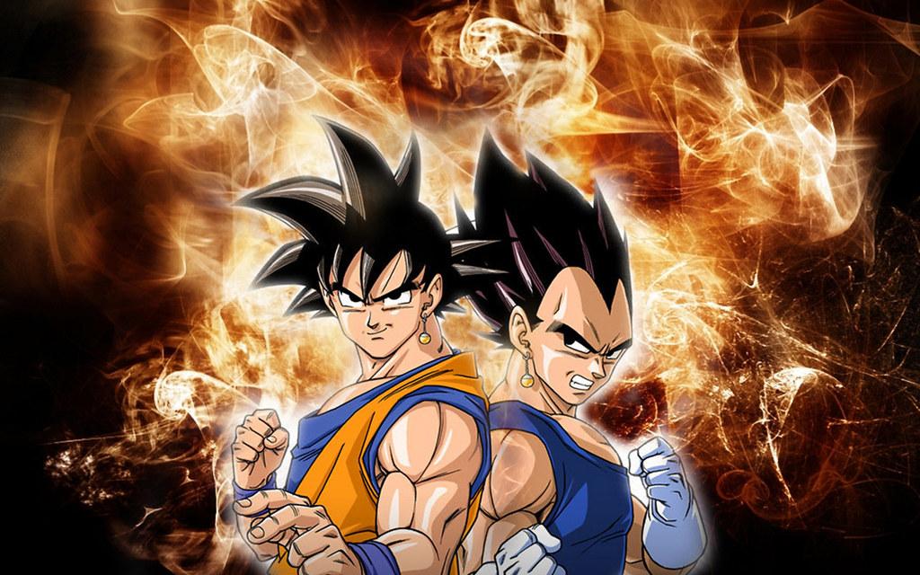 Goku And Vegeta   waterseas23   Flickr