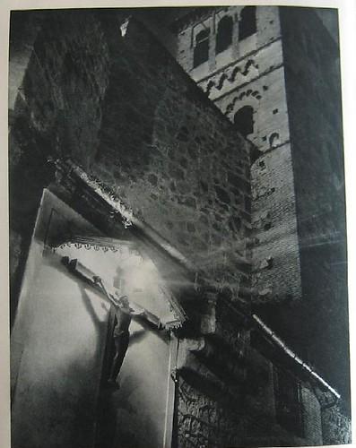 Cristo de Santo Tomé hacia 1955