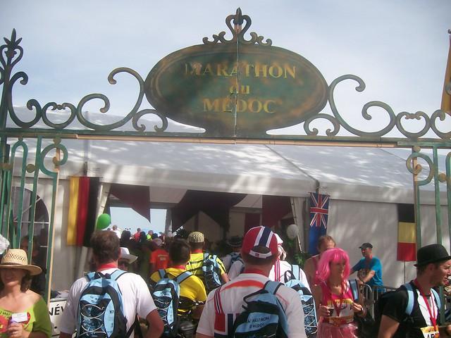 marathon du medoc 2010 : ravitaillement
