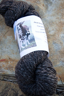 utah raised and made yarn from jacob sheep | by [x]masberry