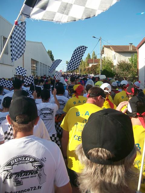 marathon du medoc 2010 : la BAC et endurance 72