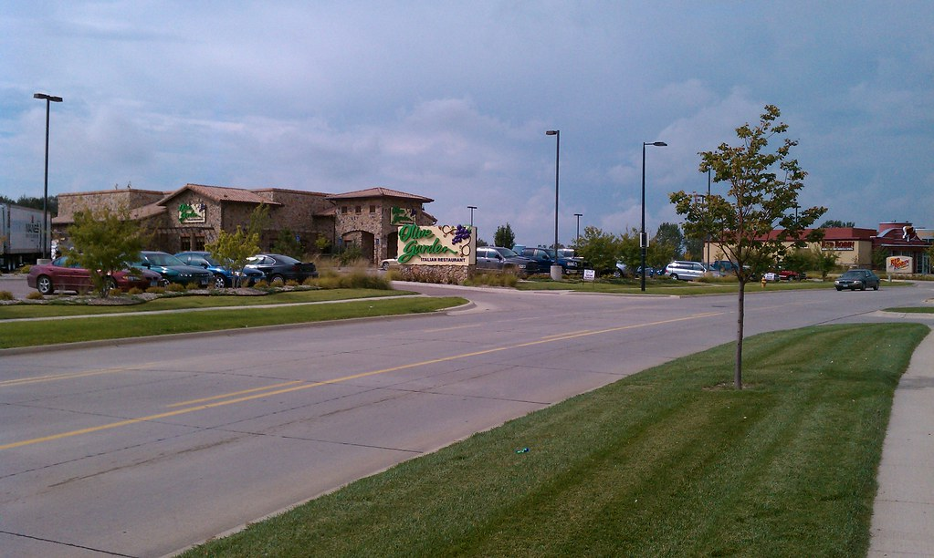Lakeport Commons Sioux City Iowa Olive Garden Red R Flickr