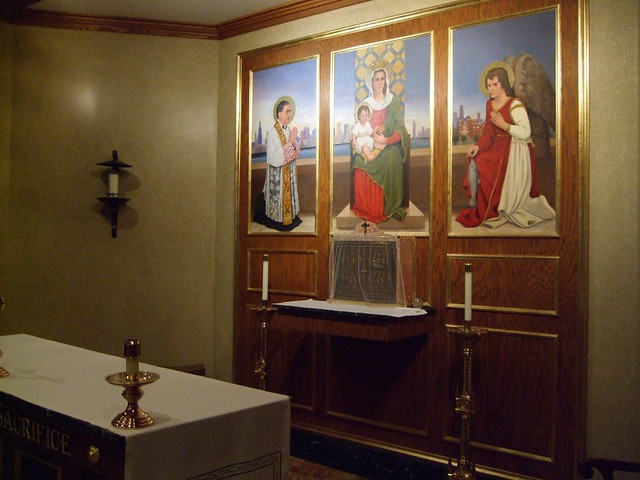 St. Mary of the Angels Catholic Church, Basement Chapel, Chicago, IL