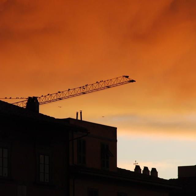 a magic sky after storm