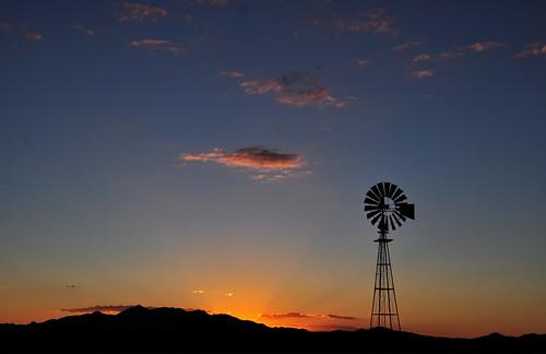 sunset arizona windmill sonoitaelgin