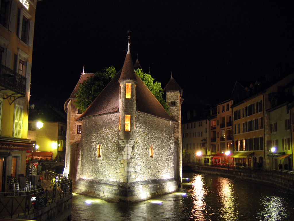 Annecy - night -