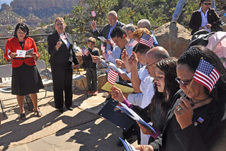 Naturalization Ceremony Grand Canyon 20100923mq_0784 | by Grand Canyon NPS