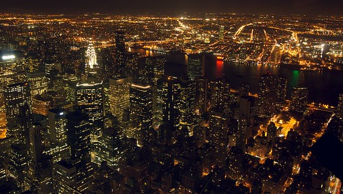 View from the Empire State Building Observation Deck | by tehgipster