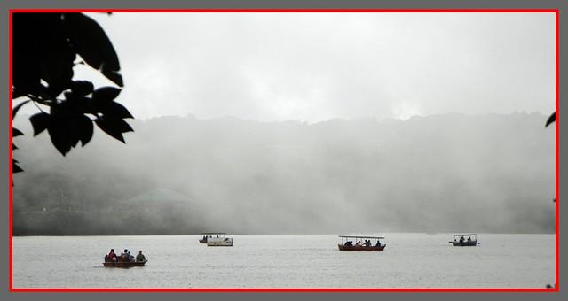 Mist over Venna Lake