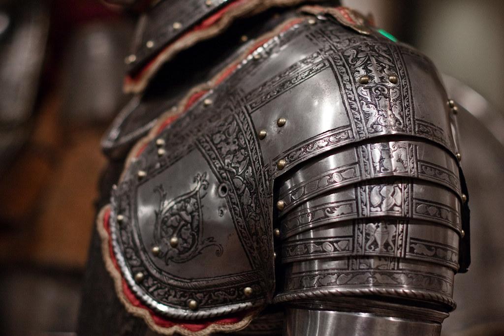 armor - shoulder detail