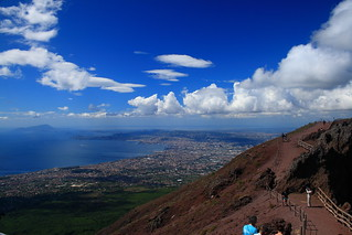 Vesuvius View from Summit | by Averain