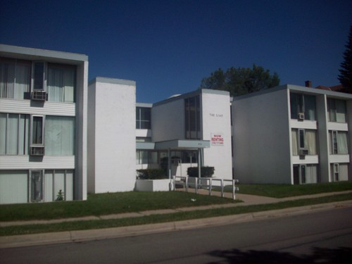 Gate facade~~Near the Pease Lot (Eastern Michigan University)