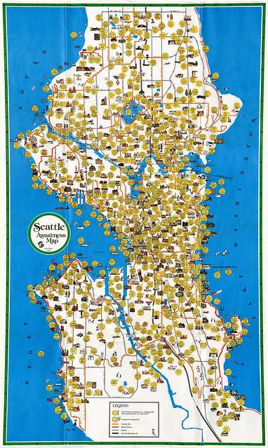 Seattle Awareness Map, 1978