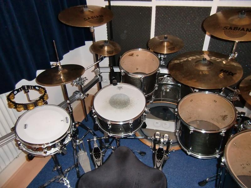 drum setup oktober 2010 seat