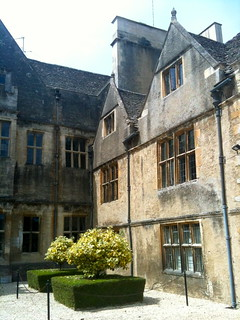 The courtyard of Bibury Court Hotel | by Tip Tours