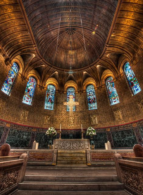 Chancel, Trinity Church, Boston