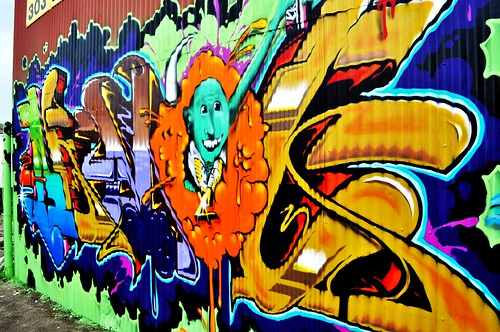 DSC_0041 | graffiti behind my mmj dispensary | carter ...