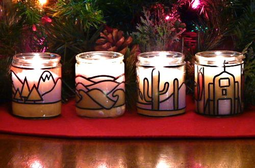 advent candles each of the four votives represents. Black Bedroom Furniture Sets. Home Design Ideas