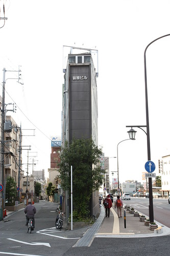 Super thin building! - Nara | by commscentral