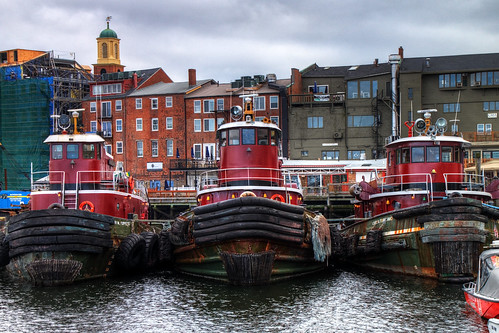 Portsmouth Tugboats in HDR | by Mr.TinDC
