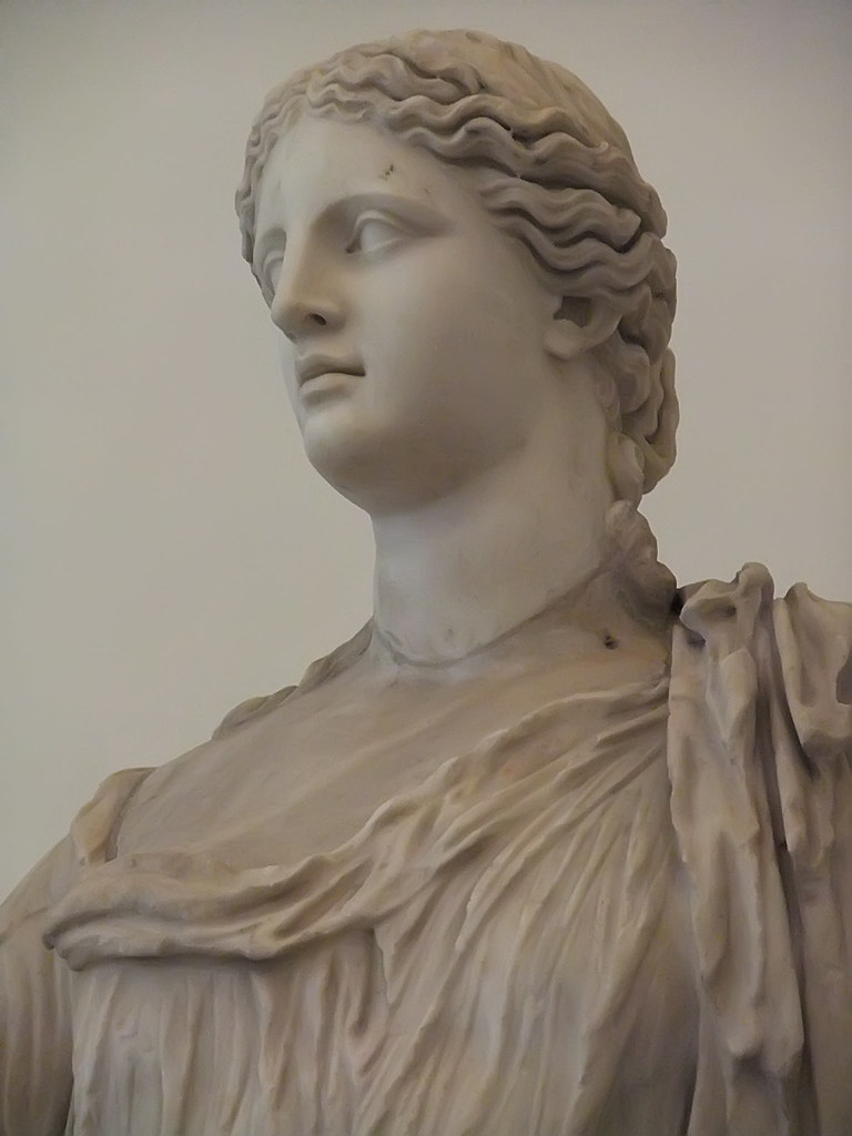 Statue Of Demeter Goddess Of The Harvest And Fertility Rom