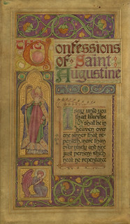 The confessions of Saint Augustine | by Villanova University Digital Library