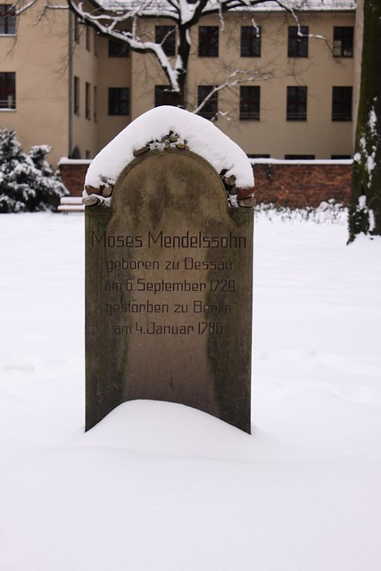 Alter Jüdischer Friedhof - Das Grabmal Moses Mendelssohns