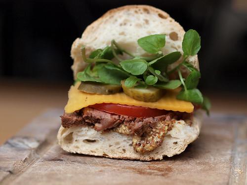 Roast beef sandwich | by Eric Hossinger