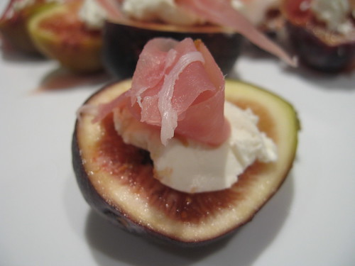 Figs with Chevre and Prosciutto | by manda_wong