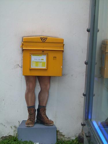 die post bringt allen was | by rotkraut.c.r