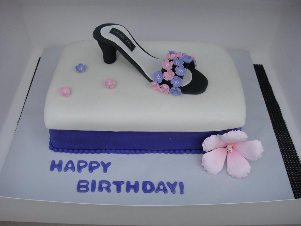 Wondrous Shoe Birthday Cake Kali Flickr Funny Birthday Cards Online Necthendildamsfinfo