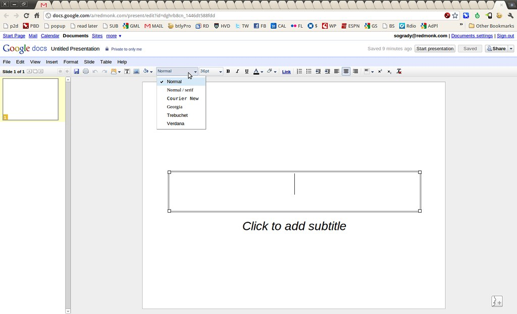 Google Docs | stephen o'grady | Flickr