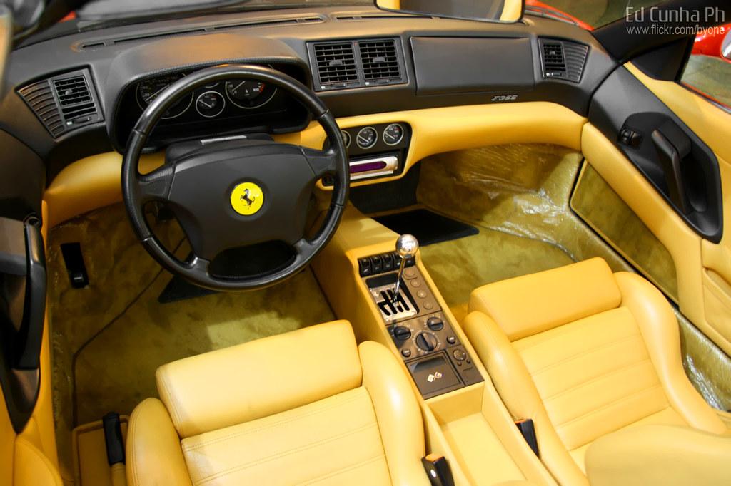 Ferrari F355 GTS Interior