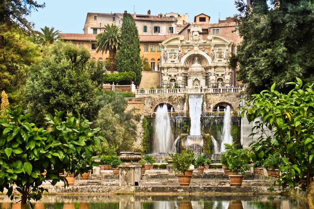 Villa d'Este Palace in Tivoli