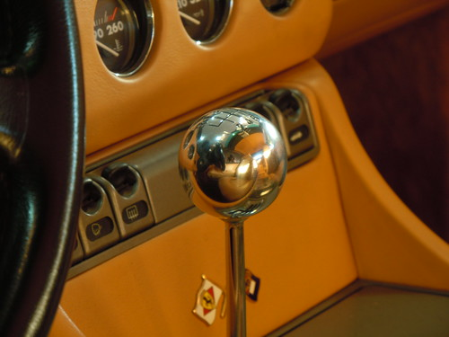 1995 Ferrari 456 shift knob, my reflection | by SoulRider.222