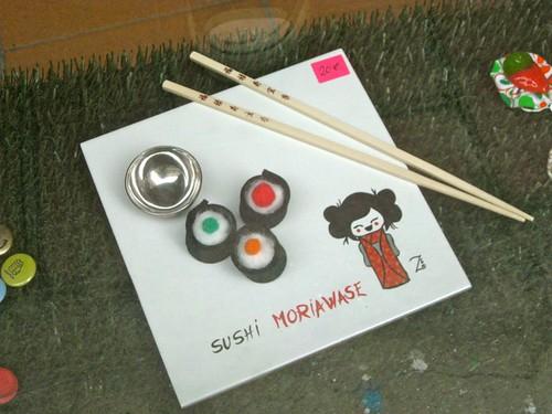 Stitched sushi | by jetsetwhitetrash