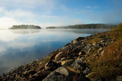 mist lake nikon ns halifax d90 soldierlake nikon1685mmvr