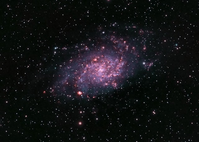 M33 in narrowband