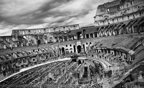 Colosseum black and white | by Paul Jarrett Photography
