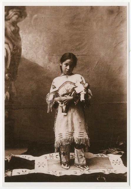 Katie Roubideaux, Rosebud Sioux, (1890-1991)