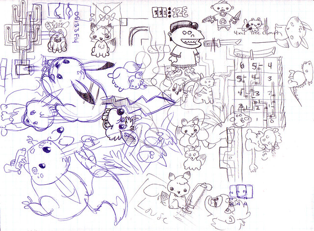 Nostalgia Doodles: Diablo II Act 3