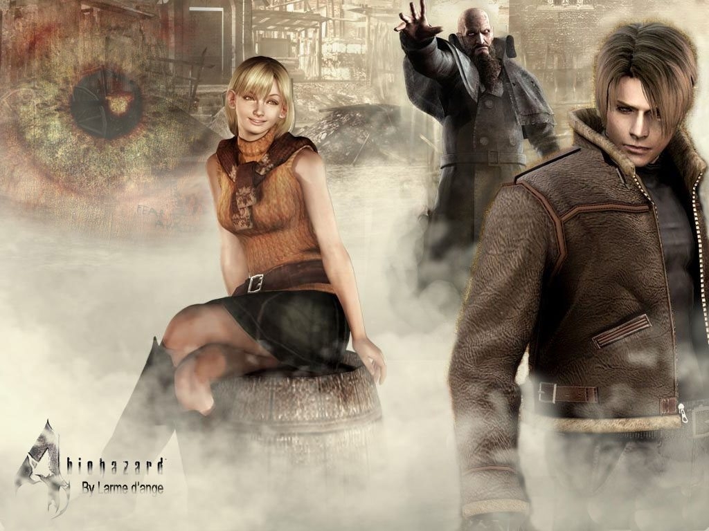 Resident Evil 4 Game Wallpaper Resident Evil 4 Game Wallpa