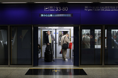 Passengers board at East Hall of Terminal 1 | by Marcus Wong from Geelong