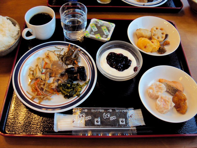 My breakfast (chosen from the buffet) one morning by bryandkeith on flickr