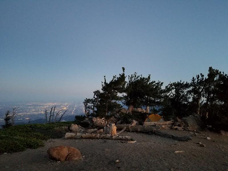 San Bernardino Peak • Camp Site