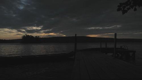 lake weather clouds sunrise island pier timelapse pond jon buckland belgradelakes greatpond virtualphotographers taconnet taconnetlodge toconnetisland