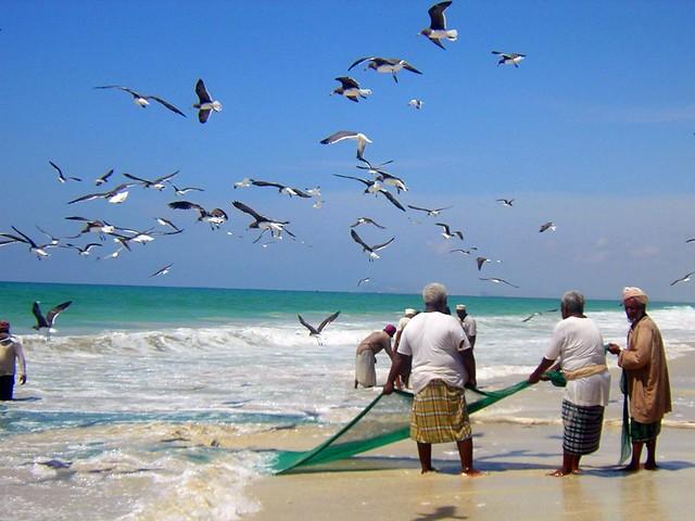 Fishermen, Salalah, Oman