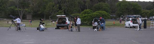 100730 SBAU telescopes zoom at Refugio Beach ICE p3 sd790 7798_801